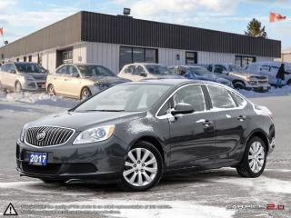 Used 2017 Buick Verano Base,LEATHER/CLOTH,DUAL CLIMATE,USB PORT for sale in Barrie, ON