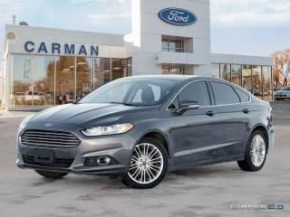 Used 2016 Ford Fusion SE for sale in Carman, MB