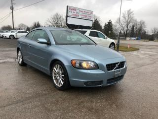 Used 2007 Volvo C70 Hard top Convertible for sale in Komoka, ON