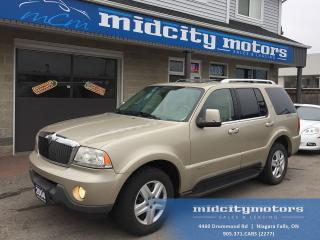 Used 2004 Lincoln Aviator Ultimate/AWD/Sunroof/Leather/Heat & cool seats for sale in Niagara Falls, ON