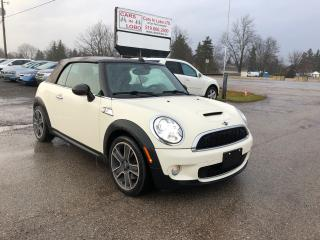 Used 2010 MINI Cooper Convertible S for sale in Komoka, ON