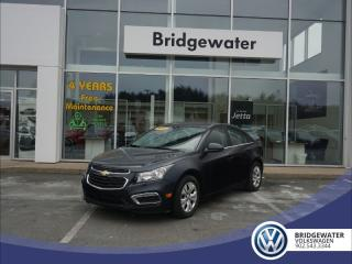 Used 2015 Chevrolet Cruze 1LT - DEALER MAINTAINED - MUST SEE for sale in Hebbville, NS