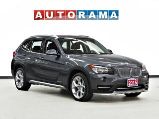 Used 2015 BMW X1 xDrive28i NAVIGATION LEATHER PAN SUNROOF AWD for sale in Toronto, ON
