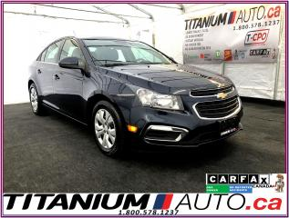 Used 2015 Chevrolet Cruze LT-Camera-Remote Start-My Link-BlueTooth-ECO-XM- for sale in London, ON