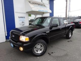 Used 2009 Ford Ranger Sport, Super Cab, 4.0L V6 Auto, A/C, 2WD for sale in Langley, BC