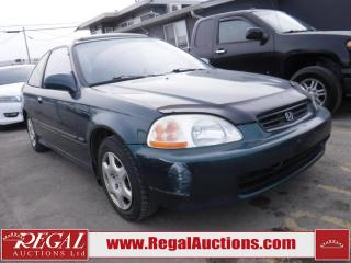 Used 1998 Honda Civic SI 2D Coupe for sale in Calgary, AB