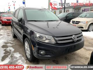 Used 2016 Volkswagen Tiguan Comfortline | AWD | LEATHER | ROOF for sale in London, ON