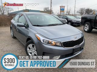 Used 2017 Kia Forte LX+ | 1 OWNER | CAM | HEATED SEATS for sale in London, ON