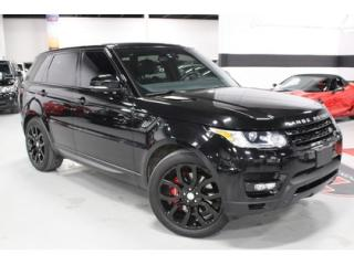 Used 2014 Land Rover Range Rover Sport V8 SC Dynamic   Local Trade In for sale in Vaughan, ON