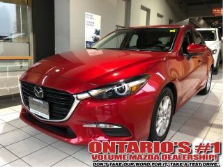 Used 2018 Mazda MAZDA3 Sport GS-BACKUP CAM, SUNROOF/1.99%, C.P.O!!! for sale in Toronto, ON