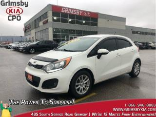 Used 2015 Kia Rio SX| 1 Owner| Bluetooth| Backup Cam| for sale in Grimsby, ON