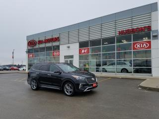 Used 2017 Hyundai Santa Fe XL Limited | NAV | Leather | Sunroof for sale in Stratford, ON