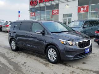 Used 2018 Kia Sedona LX | One Owner | 8 Seats for sale in Stratford, ON