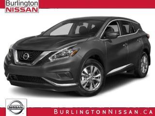 New 2018 Nissan Murano SL for sale in Burlington, ON