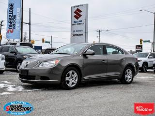 Used 2010 Buick LaCrosse CX for sale in Barrie, ON