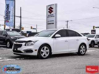 Used 2015 Chevrolet Cruze Diesel ~Nav ~Backup Cam ~Heated Leather for sale in Barrie, ON