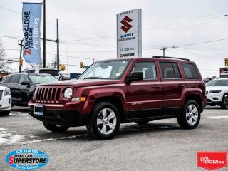 Used 2011 Jeep Patriot North 4x4 ~Heated Seats ~Power Moonroof for sale in Barrie, ON