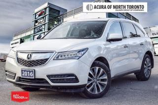 Used 2016 Acura MDX Navi Acura Certified! Accident Free| Remote Start| for sale in Thornhill, ON