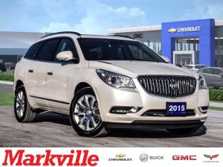 Used 2015 Buick Enclave PREMIUM-AWD-NAV-RF-GM CERTIFIED PRE-OWNED-1 OWNER for sale in Markham, ON
