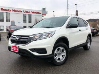 Used 2015 Honda CR-V LX - Heated Seats - Rear Camera - Bluetooth for sale in Mississauga, ON