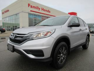 Used 2015 Honda CR-V LX, with upgraded ALLOY Rims!!! for sale in Brampton, ON
