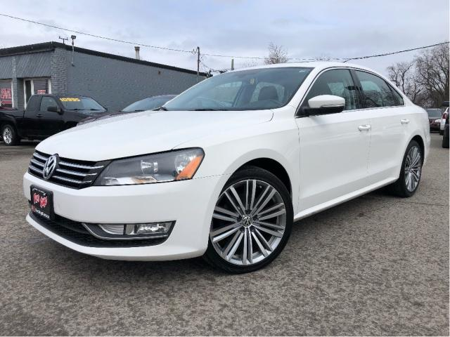 2015 Volkswagen Passat 1.8 TSI Comfortline Leather Navigation Sunroof