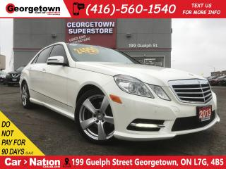 Used 2013 Mercedes-Benz E-Class 350 4MATIC   NAVI   ROOF   HARMAN/KARDON   for sale in Georgetown, ON
