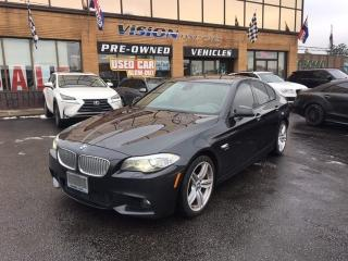 Used 2011 BMW 550i i xDrive/ HEADS UP/ NAVI / M SPORT for sale in North York, ON