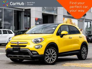 Used 2016 Fiat 500 X Trekking Panoramic Sunroof Bluetooth Remote Start A/C Electronic Parking Brake for sale in Thornhill, ON