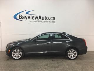 Used 2015 Cadillac ATS 2.0L Turbo - AWD! SUNROOF! ONSTAR! PUSH START! HTD LTHR! BOSE SOUND! for sale in Belleville, ON