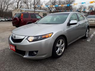 Used 2010 Acura TSX w/Premium Pkg,Low Kms!,certified for sale in Oshawa, ON