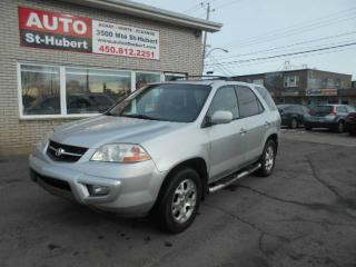 Used 2001 Acura MDX 7 PASSAGERS for sale in St-Hubert, QC