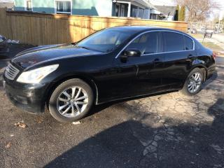 Used 2008 Infiniti G35X for sale in Hamilton, ON