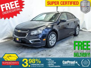 Used 2015 Chevrolet Cruze for sale in Dartmouth, NS