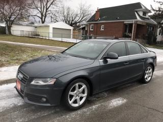 Used 2009 Audi A4 2.0T PREMIUM for sale in Hamilton, ON