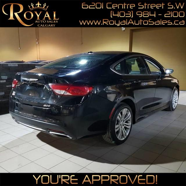 Used 2015 Chrysler 200 Limited For Sale In Calgary