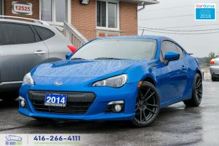 Used 2014 Subaru BRZ Sport-tech Navi 6 Speed Sports Exhaust Certified for sale in Bolton, ON
