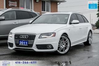 Used 2011 Audi A4 2.0T QUATTRO AVANT S-LINE SPORTS CERTIFIED CLEAN for sale in Bolton, ON