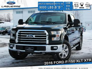 Used 2016 Ford F-150 Xlt Xtr Cam 4x4 for sale in Victoriaville, QC