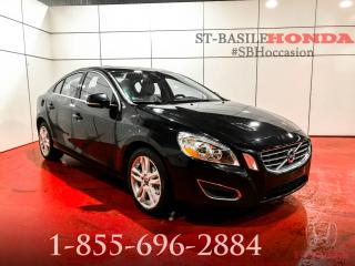 Used 2011 Volvo S60 T6 + PREMIUM + NAV + MAGS + PROPRE !!! for sale in St-Basile-le-Grand, QC