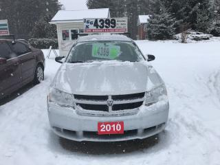 Used 2010 Dodge Avenger SE for sale in Oro Medonte, ON