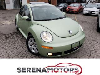 Used 2007 Volkswagen New Beetle LUXURY PKG | MANUAL | FULLY LOADED | NO ACCIDENTS for sale in Mississauga, ON