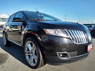 Used 2014 Lincoln MKX RESERVE, LOCAL, ACCIDENT FREE, NAVIGATION, LOADED! for sale in Surrey, BC