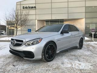 Used 2014 Mercedes-Benz E-Class E63 AMG S-Model 4MATIC for sale in Edmonton, AB