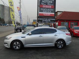 Used 2012 Kia Optima Hybrid Premium/ LOADED/ FUEL SAVER / CERTIFIED / for sale in Scarborough, ON