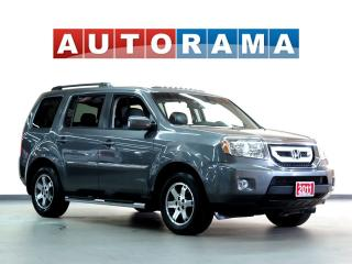 Used 2011 Honda Pilot EX-L LEATHER SUNROOF 8 PASSENGER AWD BACK UP CAM for sale in Toronto, ON