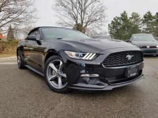 Used 2016 Ford Mustang V6 / Convertible/ No Accidents for sale in Woodbridge, ON