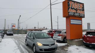 Used 2008 Nissan Versa 1.8 S**AUTO**ALLOYS**ONLY 172KMS**CERTIFIED for sale in London, ON
