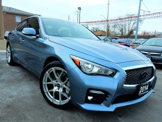 Used 2014 Infiniti Q50 SPORT AWD | NAVI.CAMERA | LEATHER.ROOF | ONE OWNER for sale in Kitchener, ON