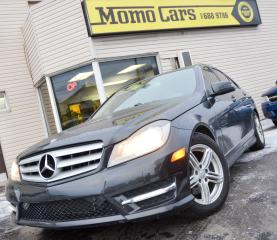 Used 2012 Mercedes-Benz C-Class C250 4MATIC! Sunroof! Only $189/Bi-weekly! for sale in St. Catharines, ON